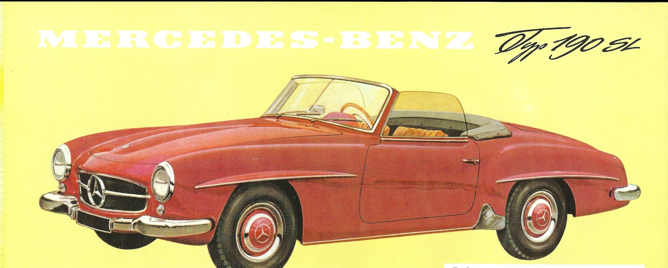 190 SL Prospektblatt I