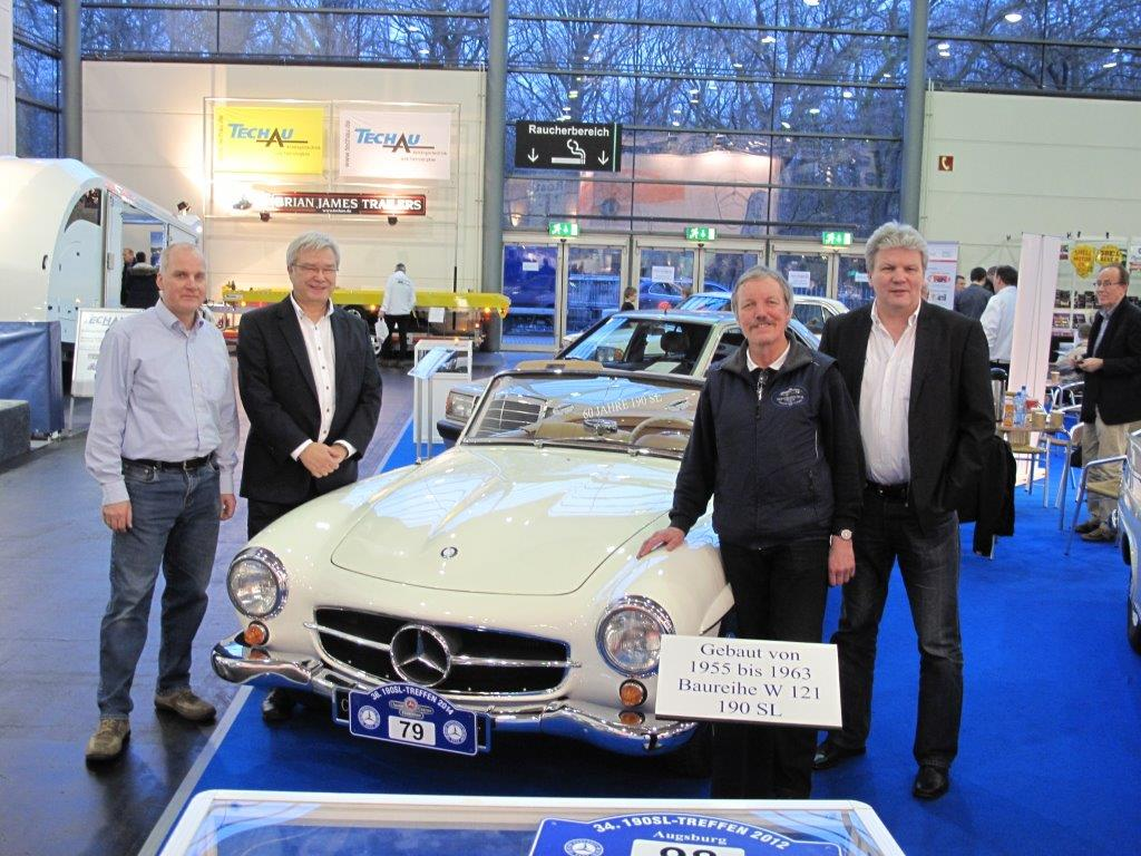 bremen classic motorshow 2015 mercedes benz 190 sl club e v. Black Bedroom Furniture Sets. Home Design Ideas