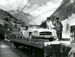 190 SL Autoverlade CH