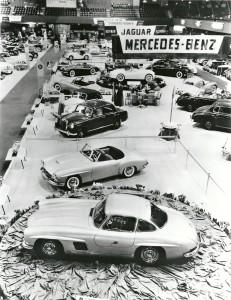 190 SL Vorstellung NewYork 1954